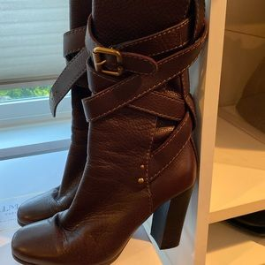 Chloe brown boot size 8